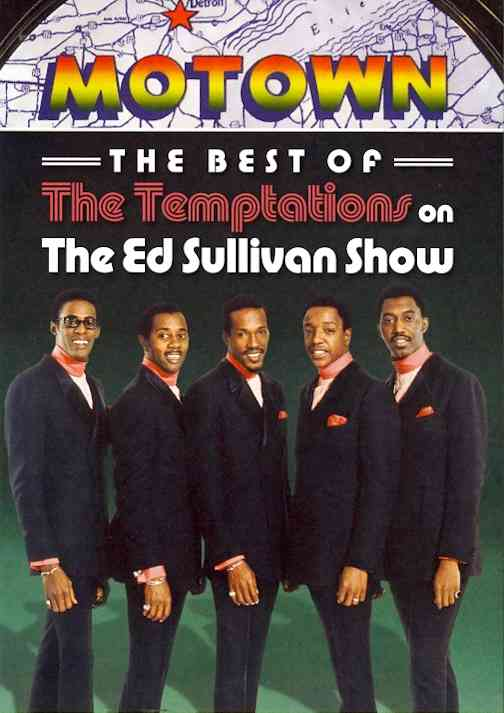 BEST OF THE TEMPTATIONS ON THE ED SUL BY TEMPTATIONS (DVD)