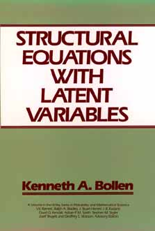 Structural Equations With Latent Variables By Bollen, Kenneth A.